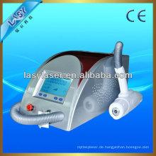 Portable nd yag lase nd yag q geschalteten laser für tattoo entfernen maschine