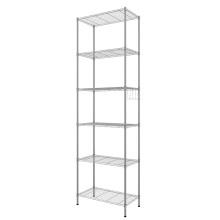 Mostrar estante de rejilla de alambre de metal de instalación simple desmontable
