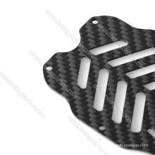Folha de painel de chapa de fibra de carbono de espessura diferente 3k
