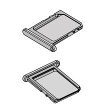 Лоток для SIM-карты NANO с отверстием из светлого никеля