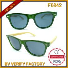 F6842 новый стиль Мужская мода солнцезащитные очки Bmboo оружия