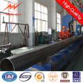8m 5kn África galvanizado fabricación del poste de energía eléctrica
