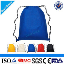Promotional Sublimation Nylon Drawstring bag Sport Drawstring Bag