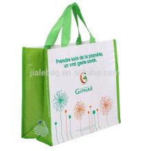 Matt Lamination flower pp woven shopping bag
