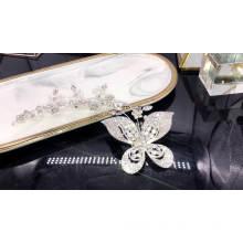 wholesale Wedding crystal bridal hair accessories flower hair decorations hair clips for women accessories rhinestone