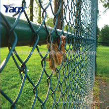 Steel Metal Type and Nature Pressure Type cheap chain link fence