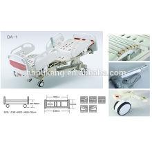 Lit électrique d'hôpital à cinq fonctions haute taille DA-2
