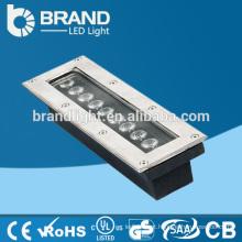 Brilho elevado 9W Retângulo LED Inground Light, CE RoHS
