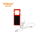 multiple interfaces durable solar battery charger for emergency