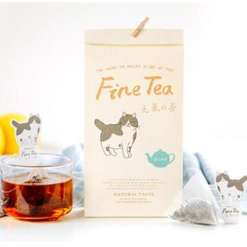 Yunnan Organic Cat Kitty Black Tea Bag