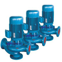 Bomba de aguas residuales tipo tubería GW