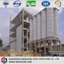 Steel Frame Structure for Industrial Processing Plant