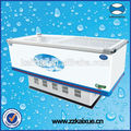 Ce Approved Meat Seafood Freezer Showcase für Restaurant