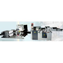4, 6, 8 Sets of Printing Rollers Flexo Printing Machine for Exercise Book Making Machinery