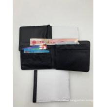 Sublimation Balnk Men′s Fold Wallet
