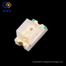 0805 SMD a mené utilisé dans la diverse couleur et taille de lampe
