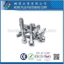 Fabricado en Taiwán Fábrica de acero al carbono Acero inoxidable Class10.9 DIN912 ALLEN Bolt Socket cabeza avellanada Tornillo