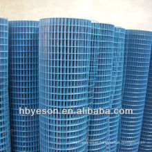 """welded wire mesh screen/welded wire netting 1.2m height/pvc coated roll mesh 1/4"""""""