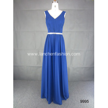 V Neck Long Prom Women Dress
