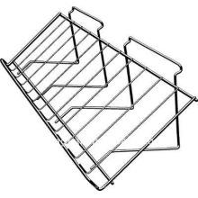 Estante de slatwall inclinado del metal del supermercado de la buena calidad