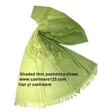 Châles en soie cachemire Ombree