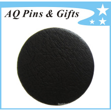 Professional Manufacturer Fake Leather Tinplate Button Badge (button badge-57)