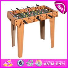 2014 pas cher en bois de football de table pour les enfants, dernier jouet de football de table pour les enfants, football de table d'intérieur pour l'usine de bébé W11A030