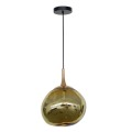 Nouveau design boule de verre suspension moderne