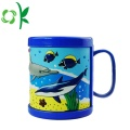 Silicone Cartoon Customized Pattern Sleeve for Cup Mug