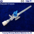 Cápsula IV Desechable Médica Desechable / Cateter IV Tipo 22g
