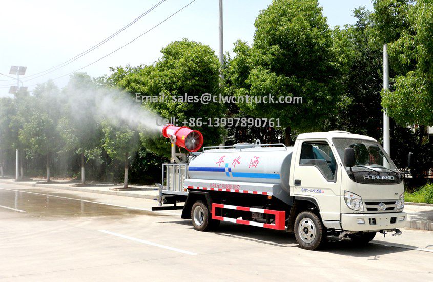 insecticide spray truck details