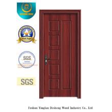 Простой дизайн двери с МДФ коричневого цвета для комнаты (фирма xcl-036)