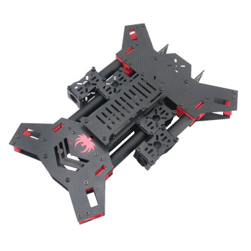 H4 Folding Carbon Fiber Copter Frame