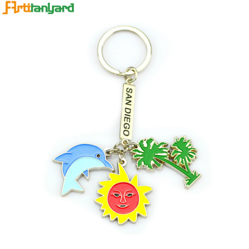 Best Friend Metal Keychains Funny Personalized