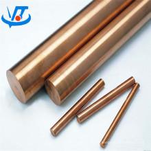 Haste redonda da terra do cobre 99,9% barra redonda contínua do cobre puro 8mm