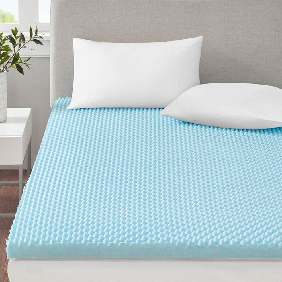 Eggshell Foam Mattress Pad Full