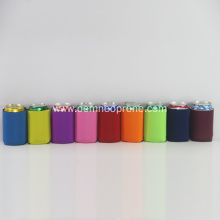 Colorful Collapsible Neoprene Beer Can Coolers