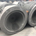 Carbon electrode with nipple dia1310 mm  factory directly sale