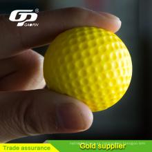Pelota de golf de la espuma de la PU, bola suave de la tensión de la pelota de golf de la PU