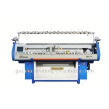 double system irregular multi-color jacquard computerized flat knitting machine