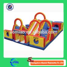 Adulto inflável obstáculo curso playground barato obstáculo inflável curso à venda