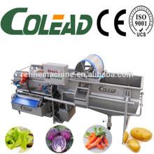 Vegetable washing machine/vegetable processing machine/vegetable cutting & washing line