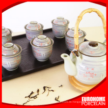 für Restaurant benutzerdefinierte gedruckt, Teetassen und Untertassen