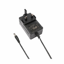 36W 24Volt UK Blade AC DC Power Adapter