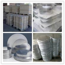 Círculo de folha de alumínio em diferentes diâmetros para panelas