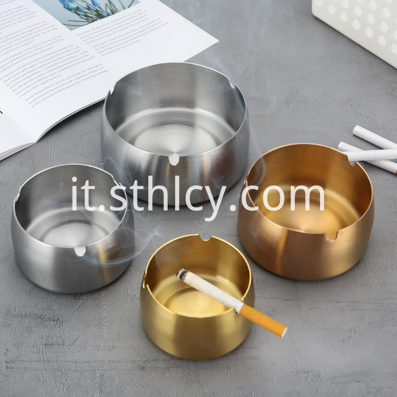 Mixed Stainless Steel Ashtray