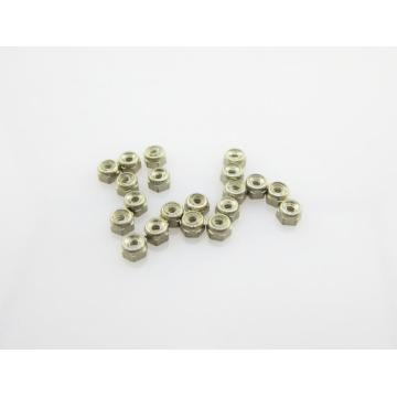 StayTight Nickel Silver Nut With Nylon Ring