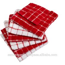 Applique tea towels