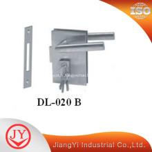 Serrure de porte en alliage de zinc pour portes en verre