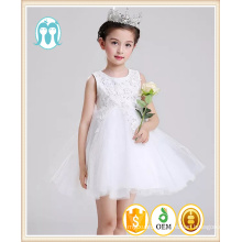 2017 Baby boutique clothing Girls Puffy Princess white chiffon hand embroidery designs for baby dress 2017 Baby boutique clothing Girls Puffy Princess white chiffon hand embroidery designs for baby dress